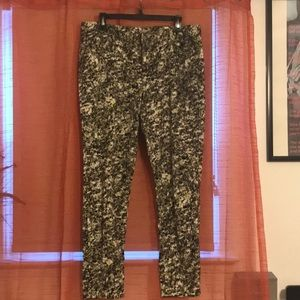 Vera wang multi color jeans.